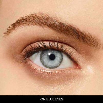 Rebel Prescription Grey (12 Month) Contact Lenses