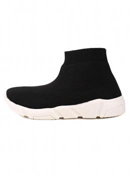 Women Fashion Sock Sneaker Ankle Length Slip-on, Multicolor