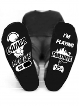 Black Game Mode I'm Playing Fortnite Socks