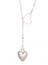 Femmes Charm Fashion Jewelry Sweet Coeur Forme Pendentif Collier
