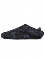 Black Furoshiki Walking-Yoga-Fitness Wrapping Shoes