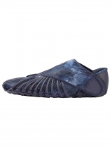 Bleu foncé Furoshiki Walking-Yoga-Fitness Wrapping Shoes