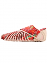 Vermelho Furoshiki Walking-Yoga-Fitness Wrapping Shoes