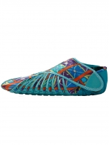 Bleu ciel Furoshiki Walking-Yoga-Fitness Wrapping Shoes
