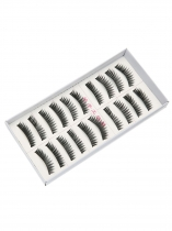 Black 5 10 Pairs Makeup Handmade Soft Extension Long False Eyelashes
