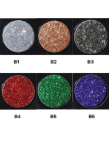 Glitter 6 Colors Eye Shadow Powder Palette Matte Eyeshadow Cosmetic Makeup Kit