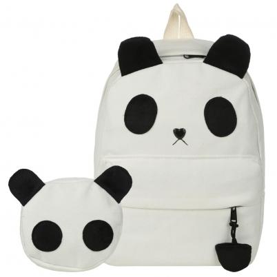 0ba0b4f32fa9 Backpacks Women Custom Stylish Cartoon Bags Panda Kid S School Bag For Boys  Girls Black Leather Backpack Mini Schoolbag Mochilas Jansport School  Backpacks .