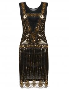 Roaring 20s Flapper Kleid