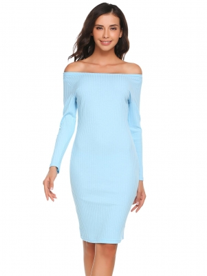 77aa7442f8fa Baby Blue Off Solid Dress. VIEW ALL ZEAGOOVIEW ALL Going Out Dresses