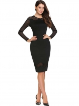 Robe à cravate Bodycon