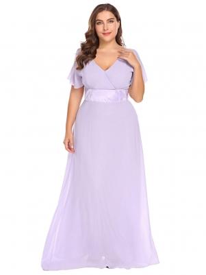 6ef1fa9986f Purple Women Plus Sexy Dress
