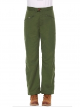 Army green Cargo Sports Solid Outdoor Sweatpants Hiking Pants