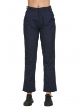 Navy blue Sports Solid Climbing Trousers Sweatpants