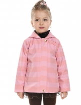 New Kids Girl Long Sleeve Waterproof Hooded Raincoat Coat Outwear