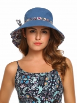 Foldable Floppy Wide Brim Sun Travel Beach Hat