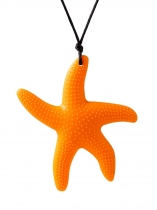 New Fashion Women Silicone Starfish Shape Rope Wedding Party Casual Collier Cadeau