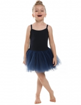 Black New Kids Girl Elegant Dance Ballet Bodysuit Dresses