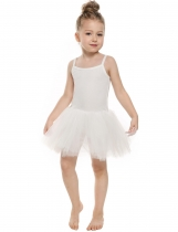 White New Kids Girl Elegant Dance Ballet Bodysuit Dresses