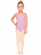 Purple Girls' Gym Dance Back Rhombus Harness Solid Leotard