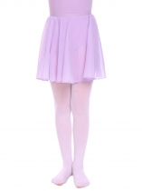 Purple Girls Basic Classic Dancewear Elastic Waist Pull-On Chiffon Dance Skirts