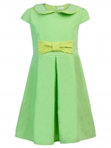 Kids Girl's Wear A Line Short Sleeve Vintage Style Peter Pan Collar Dress