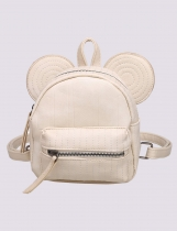 Cute Animal Shape Synthetic Leather Backpack Bag