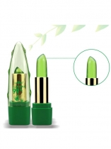 Aloe Vera Jelly Lipsticks Color cambiante de larga duración hidratante labial Stick