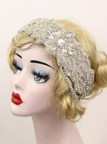 Bridal Headpiece Women Vintage Style Rhinestone Party Flapper Headband
