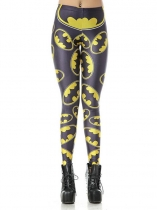 Women Casual Printing Stretchy Skinny Full Length Leggings