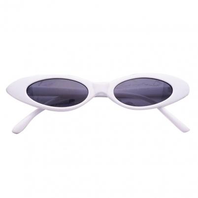 White Hot Small Frame Unique Sunglasses